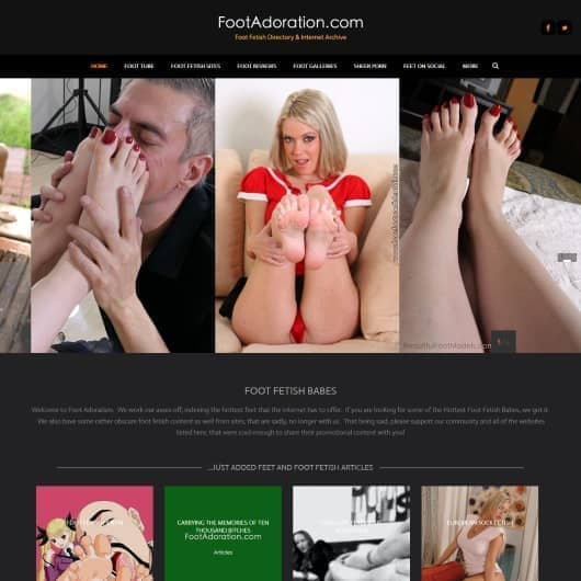Foot site top 100 fetish matchless topic Very